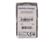 Biofinity Energys (3 lentilles)