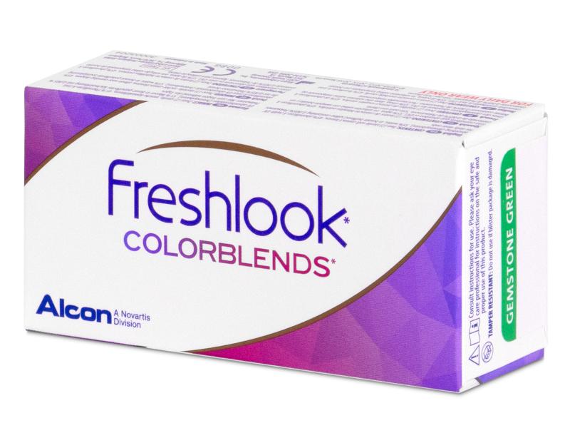 FreshLook ColorBlends Brown - non correctrices (2 lentilles)