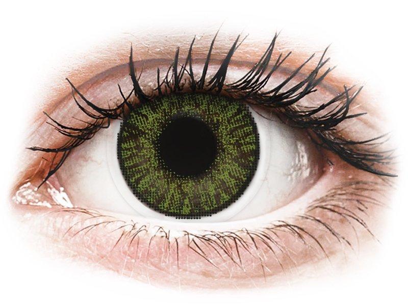 FreshLook ColorBlends Green - non correctrices (2 lentilles)