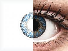 FreshLook ColorBlends True Sapphire - correctrices (2 lentilles)