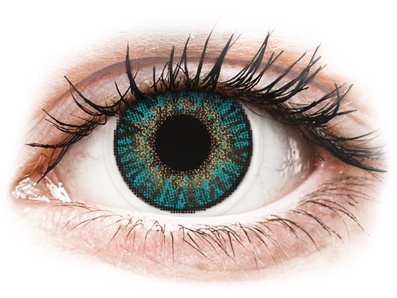 FreshLook ColorBlends Turquoise - correctrices (2 lentilles)