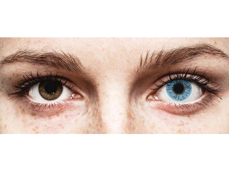 FreshLook Colors Sapphire Blue - correctrices (2 lentilles)