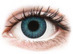 Lentilles de contact effet naturel Bleu Brilliant Blue - correctrices - Air Optix (2lentilles)