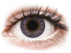 TopVue Color - Violet - non correctrices (2 lentilles)