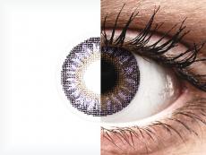 Lentilles de contact Violet - correctrices - TopVue Color (2lentilles mensuelles)