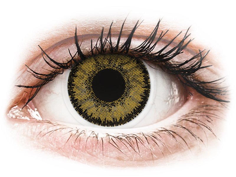 SofLens Natural Colors Dark Hazel - correctrices (2 lentilles)