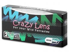 ColourVUE Crazy Lens - Dragon Eyes - journalières non correctrices (2 lentilles)