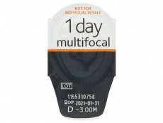 Proclear 1 Day Multifocal (30lentilles)