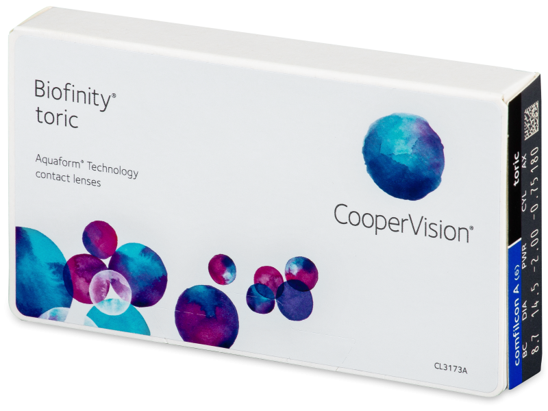 Biofinity Toric (6lentilles)
