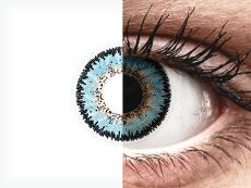 Lentilles de contact Bleu Aqua - ColourVUE 3 Tones (2lentilles)