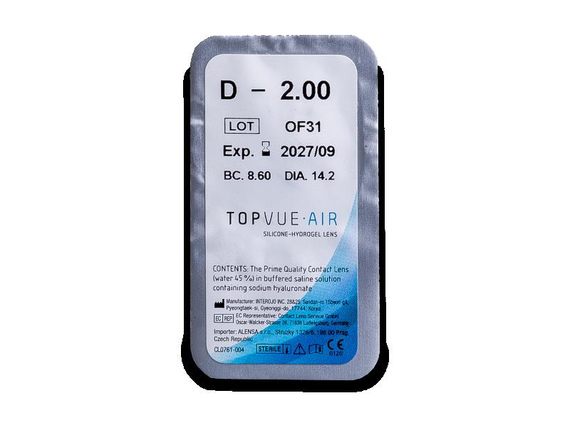 TopVue Air (6 lentilles)