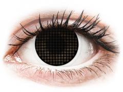 Lentilles de contact Noir Black Screen - ColourVue Crazy (2lentilles)