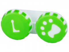 Étui à lentilles Patte - Vert