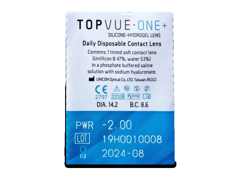 TopVue One+ (30 lentilles)