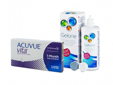 Acuvue Vita (6 lentilles) + Gelone 360 ml
