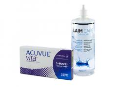 Acuvue Vita (6 lentilles) + Laim-Care 400 ml