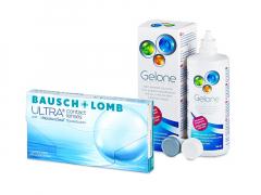 Bausch + Lomb ULTRA (3 lentilles) + Gelone 360 ml
