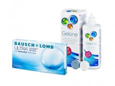 Bausch + Lomb ULTRA (6 lentilles) + Gelone 360 ml