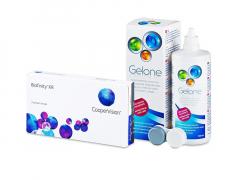 Biofinity XR (3 lentilles) + Gelone 360 ml