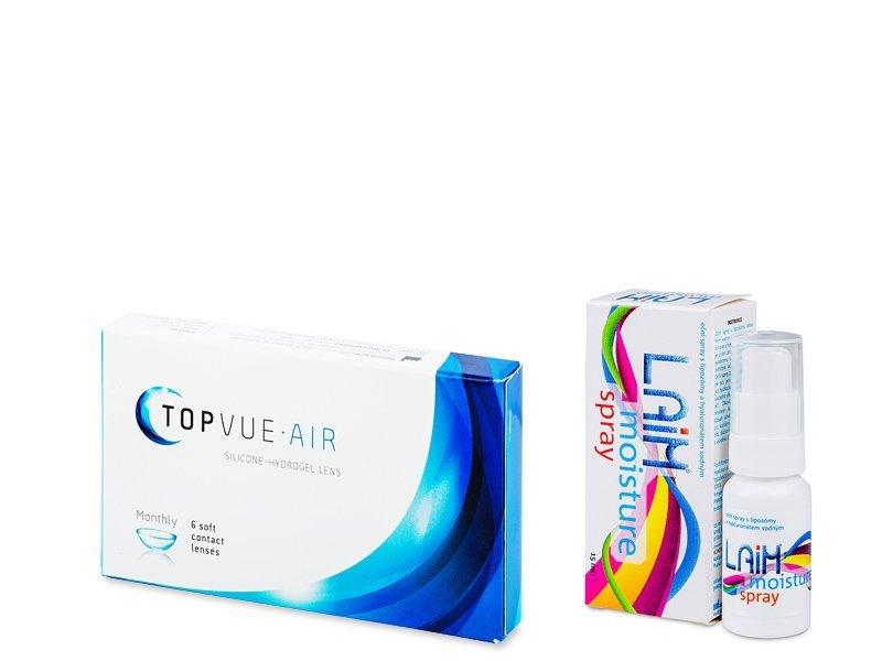 TopVue Air (6 lentilles) + Laim Moisture spray !
