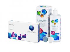 Biofinity (3 lentilles) + Gelone 360 ml