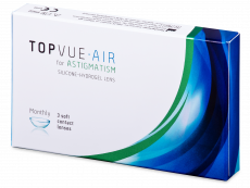 TopVue Air for Astigmatism (3 lentilles)