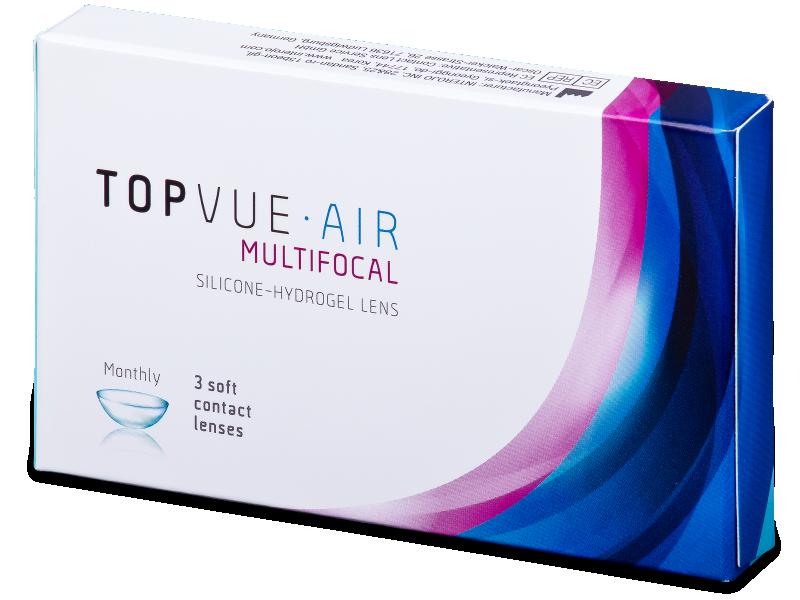 TopVue Air Multifocal (3 lentilles)