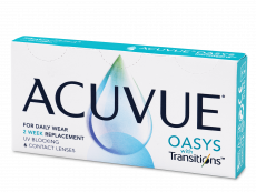 Acuvue Oasys with Transitions (6 lentilles)