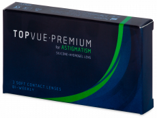 TopVue Premium for Astigmatism (3lentilles)