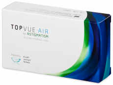TopVue Air for Astigmatism (6 lentilles)