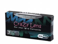 ColourVUE Crazy Lens - Blood Shot - journalières non correctrices (2 lentilles)
