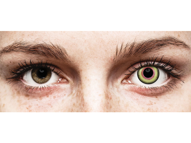 ColourVUE Crazy Lens - Mad Hatter - journalières non correctrices (2lentilles)