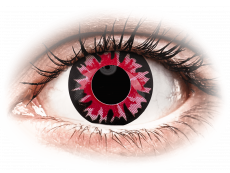 ColourVUE Crazy Lens - Volturi - journalières non correctrices (2lentilles)