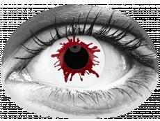 ColourVUE Crazy Lens - Wild Blood - journalières non correctrices (2lentilles)