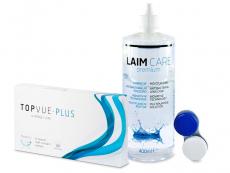 TopVue Monthly Plus (6 lentilles) + Solution LAIM-CARE400ml