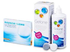 Bausch + Lomb ULTRA for Astigmatism(3 lentilles) + Gelone 360 ml