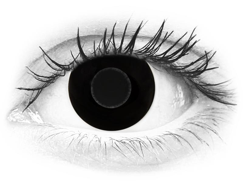 CRAZY LENS - Black Out - journalières correctrices (2 lentilles)