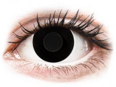 CRAZY LENS - Black Out - journalières non correctrices (2 lentilles)