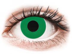 CRAZY LENS - Emerald Green - journalières non correctrices (2 lentilles)