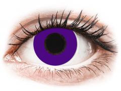 CRAZY LENS - Solid Violet - journalières non correctrices (2 lentilles)