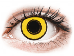 CRAZY LENS - Yellow Twilight - journalières correctrices (2 lentilles)