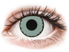 CRAZY LENS - Zombie Virus - journalières correctrices (2 lentilles)