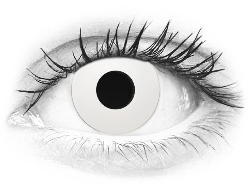CRAZY LENS - WhiteOut - journalières correctrices (2 lentilles)