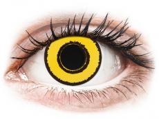 CRAZY LENS - Yellow Twilight - journalières non correctrices (2 lentilles)