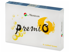 Menicon PremiO (6 lentilles)