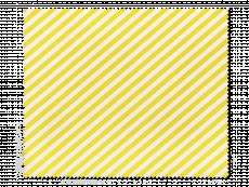 Chiffon à lunettes - rayures jaunes et blanches