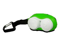 Étui pour objectif avec mousqueton - vert