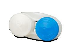Étui à lentilles antibactérien - bleu