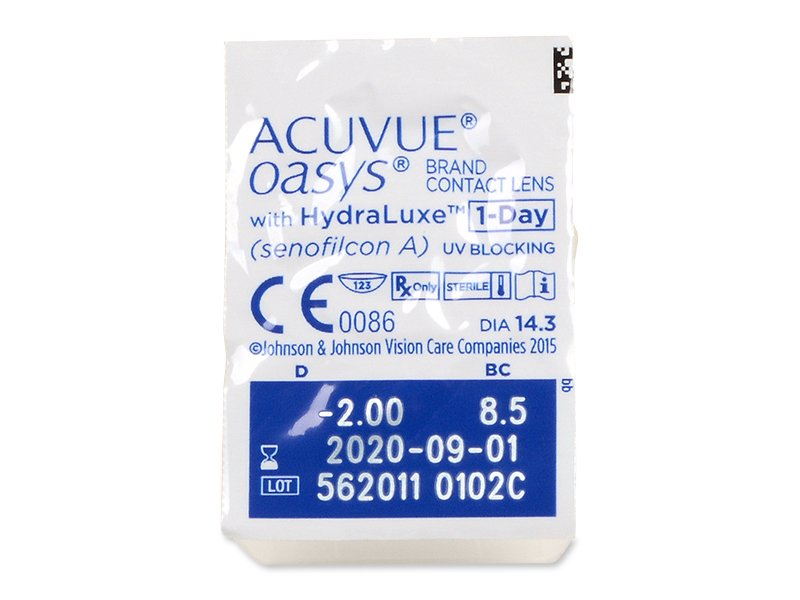 Acuvue Oasys 1-Day (90 lentilles)