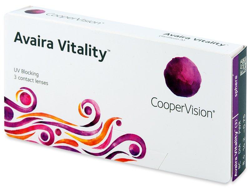 Avaira Vitality (3 lentilles)